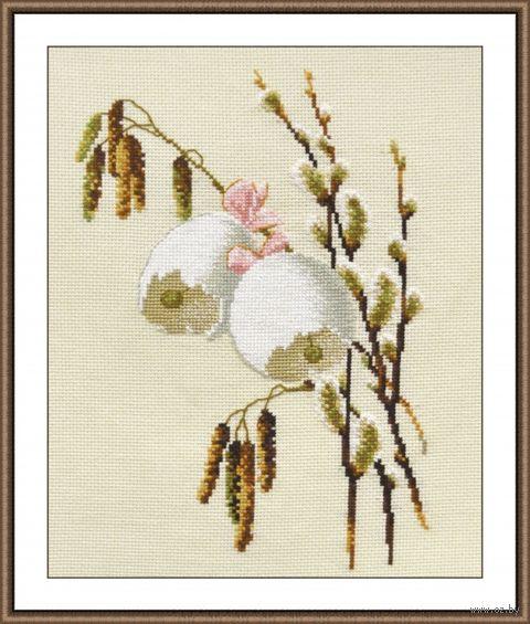 """Вышивка крестом """"Весенний звон"""" (190х270 мм) — фото, картинка"""