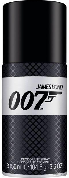 "Дезодорант-спрей для мужчин ""007"" (150 мл) — фото, картинка"