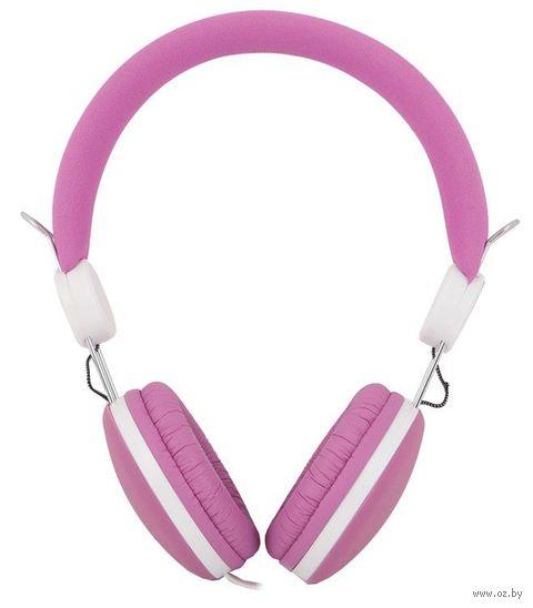 Наушники Medianna HP-811 (Pink/White) — фото, картинка