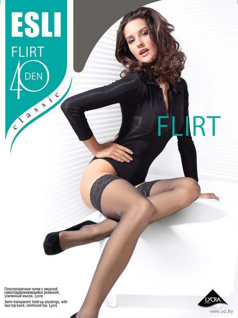 """Чулки женские """"Esli. Flirt 40"""""""