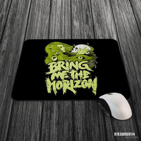 """Коврик для мыши большой """"Bring Me the Horizon"""" (арт. 114) — фото, картинка"""