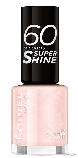 "Лак для ногтей ""60 Seconds Super Shine"" (тон: 203) — фото, картинка"