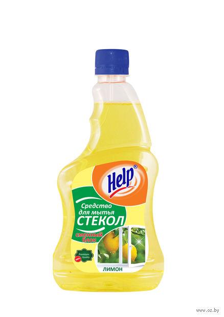 """Средство для чистки стекол """"Лимон"""" (сменный блок; 750 мл) — фото, картинка"""