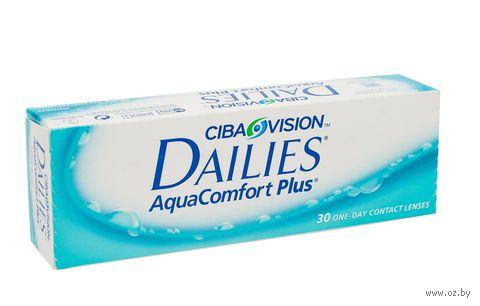 """Контактные линзы """"Dailies Aqua Comfort Plus"""" (1 линза; +5,0 дптр) — фото, картинка"""