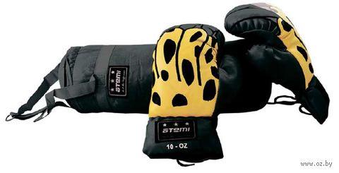 Набор боксёрский детский BS-6 (чёрный) — фото, картинка