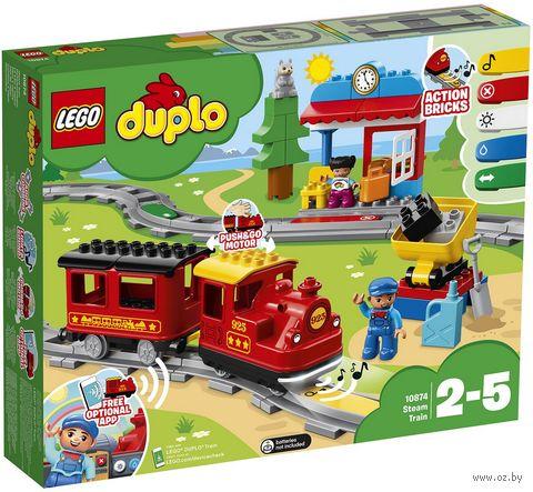 """LEGO Duplo """"Поезд на паровой тяге"""" — фото, картинка"""