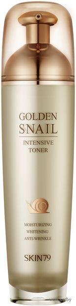 """Тонер для лица """"Golden Snail Intensive Toner"""" (130 мл) — фото, картинка"""