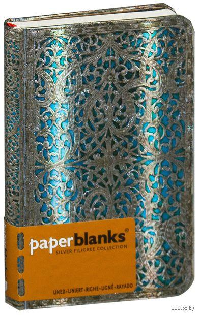 """Записная книжка Paperblanks """"Синева Майя"""" в линейку (формат: 95*140 мм, classic)"""