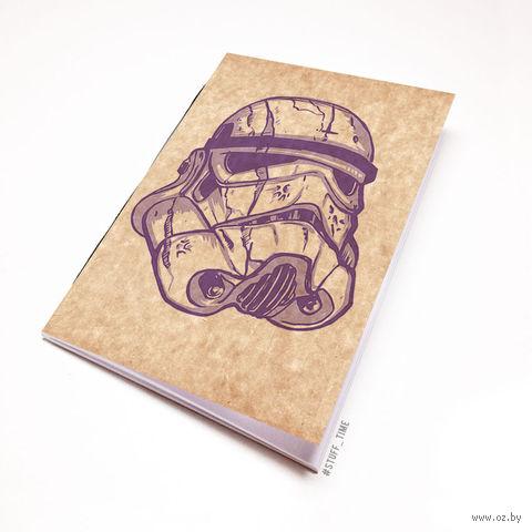 """Блокнот крафт """"Звездные войны"""" А7 (106)"""