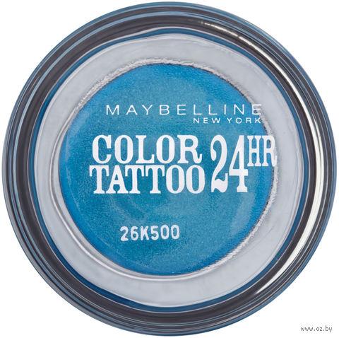 """Тени для век """"Color Tattoo 24 часа"""" (тон: 20, бирюзовый)"""