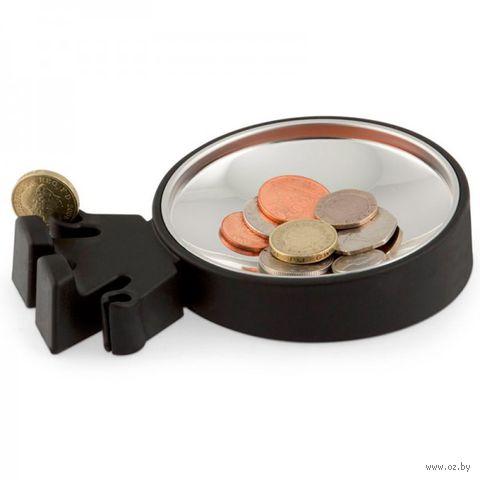 "Тарелка для монет ""Big Head"" (черная)"