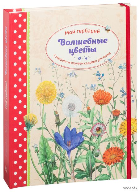 Волшебные цветы. Мой гербарий. Собираем и изучаем садовые растения. Стефани Циск, Ларс Баус