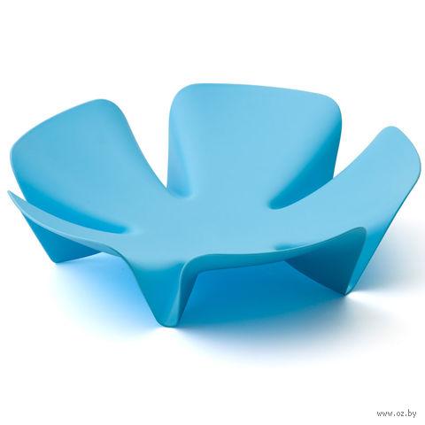 """Подставка для фруктов пластмассовая """"Flower"""" (голубая)"""