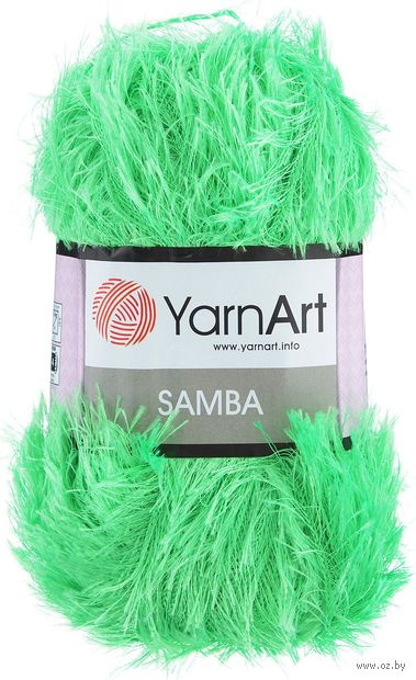 "Пряжа ""YarnArt. Samba №9"" (100 г; 150 м; салат) — фото, картинка"