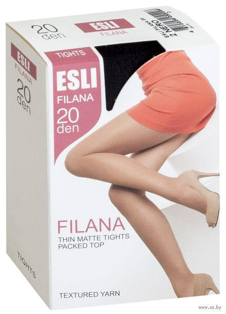 """Колготки женские """"Esli. Filana 20"""" — фото, картинка"""