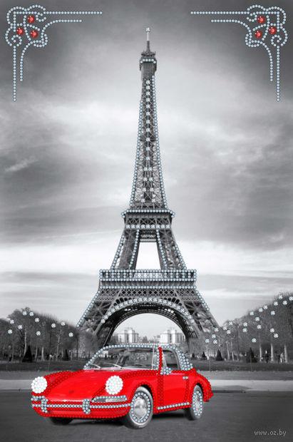 """Вышивка бисером """"Поездка в Париж"""" (220х300 мм) — фото, картинка"""