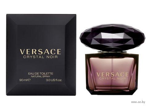 """Туалетная вода для женщин Versace """"Crystal Noir"""" (90 мл) — фото, картинка"""