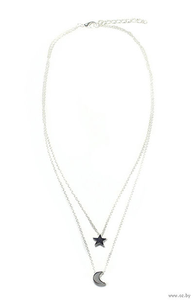 Ожерелье (арт. 3050; серебристое) — фото, картинка