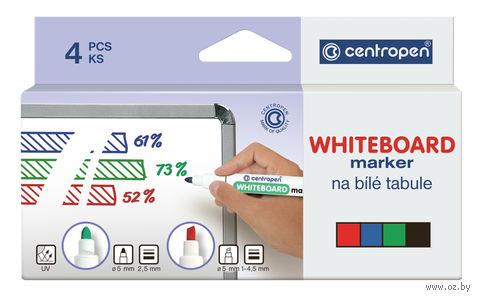 Набор маркеров для белой доски (2,5 мм; 4 цвета)