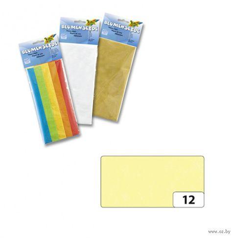Бумага папиросная (желтый лимонный; 500х700 мм; 5 листов)