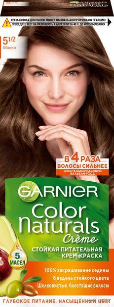 """Крем-краска для волос """"Color Naturals"""" тон: 5.1/2, мокко — фото, картинка"""