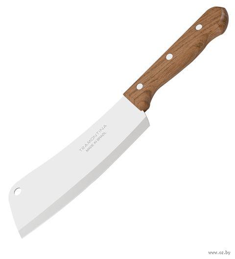 Нож-секач металлический с деревянной ручкой (28,7/15,5 см)
