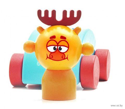 """Деревянная игрушка """"Машинка Лосяша"""""""