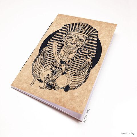 """Блокнот крафт """"Мумия Фараона"""" А6 (475)"""