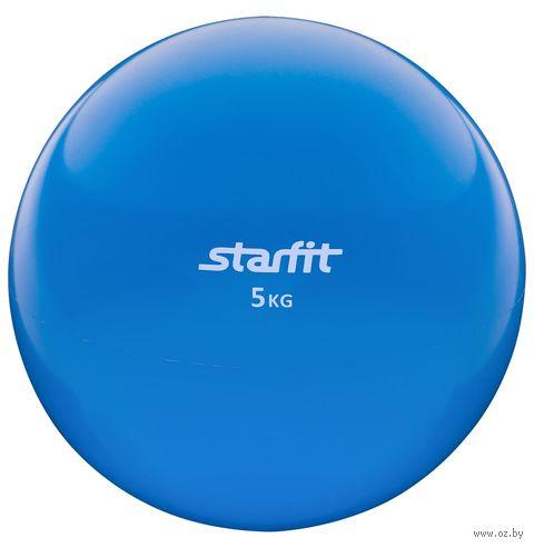 Медбол GB-703 (5 кг; синий) — фото, картинка