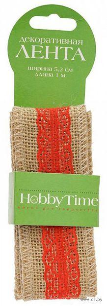 "Лента декоративная ""Hobby Time"" (арт. 2-603/02) — фото, картинка"