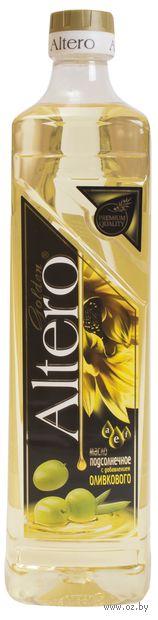 """Масло подсолнечное """"Altero. С добавлением оливкового"""" (810 мл) — фото, картинка"""
