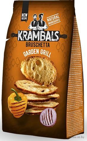 "Сухарики ""Krambals. Овощи на гриле"" (70 г) — фото, картинка"