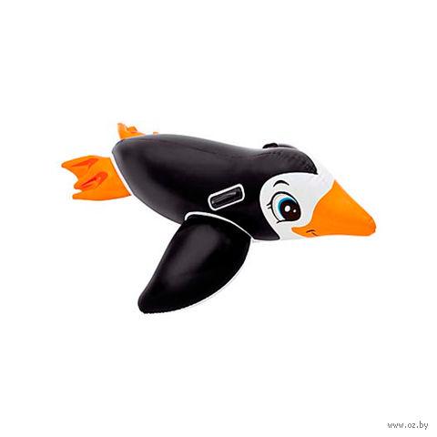 """Круг (приспособление) надувной детский с держателями """"Пингвин"""" (151х66 см)"""