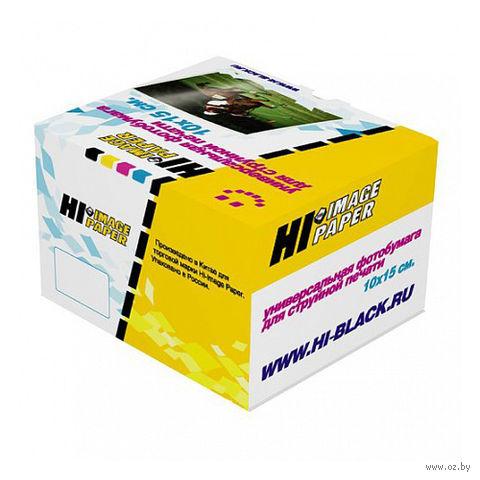 Фотобумага матовая односторонняя (500 листов, 230 г/м, 10х15 см)