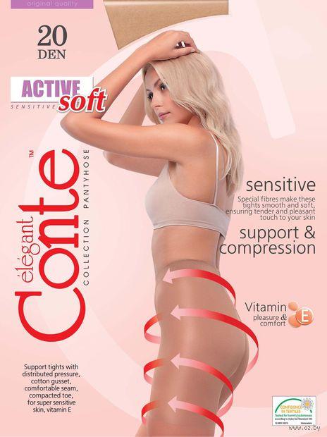 "Колготки женские корректирующие ""Conte. Active Soft 20"""