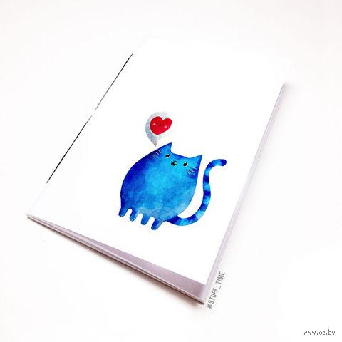 "Блокнот ""Милый котик"" (А5; арт. 808)"
