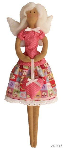 """Набор для шитья из ткани """"Ангел с сердечком"""" — фото, картинка"""