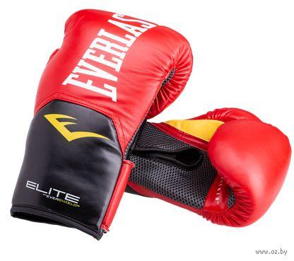 "Перчатки боксёрские ""Elite ProStyle"" (12 унций; красные) — фото, картинка"