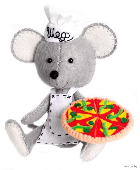 """Набор для шитья из фетра """"Мастер пиццы"""" — фото, картинка"""