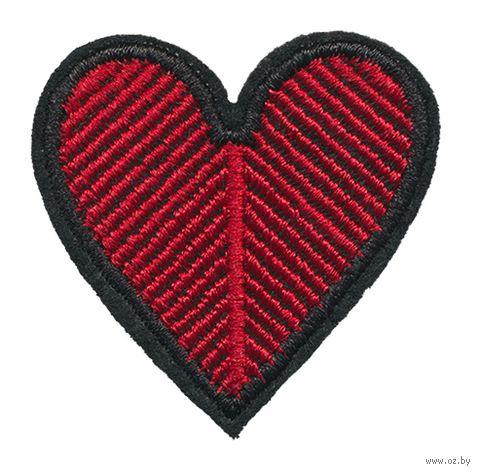 "Термоаппликация ""Сердце"" (арт. 3299) — фото, картинка"