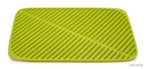 """Коврик для сушки посуды """"Flume"""" (435х315х10 мм; зеленый) — фото, картинка"""