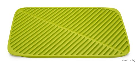 "Коврик для сушки посуды ""Flume"" (435х315х10 мм; зеленый)"