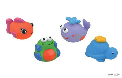 "Набор игрушек для купания ""Зверята"""
