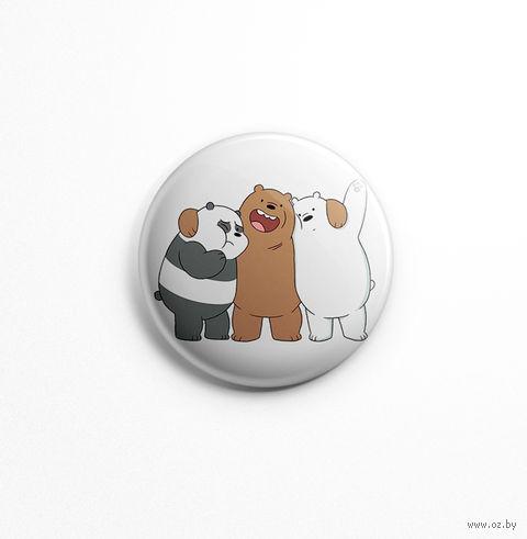 """Значок """"Вся правда о медведях"""" (арт. 678) — фото, картинка"""