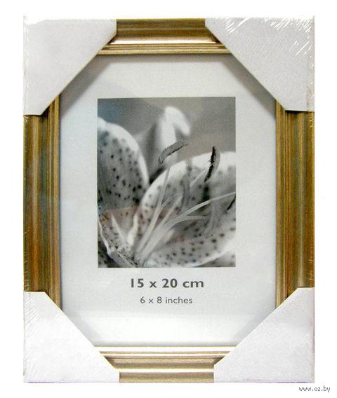 Рамка деревянная со стеклом (15х20 см; арт. WB012/6Х8) — фото, картинка