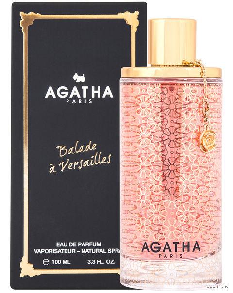 """Парфюмерная вода для женщин Agatha """"Balade Aux Tuileries"""" (100 мл) — фото, картинка"""