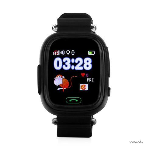 Детские часы SmartBabyWatch Q80 (черные) — фото, картинка