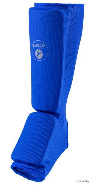 Защита голень-стопа (S; синяя) — фото, картинка