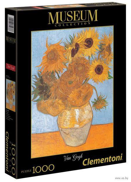 """Пазл """"Ван Гог. Подсолнухи"""" (1000 элементов) — фото, картинка"""