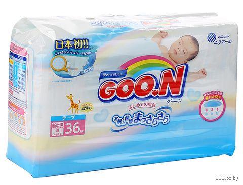 """Подгузники """"Goo.N"""" (0-5 кг; 36 шт.) — фото, картинка"""